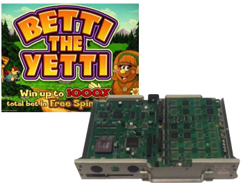 Betti the Yetti Affordable Casino Boards