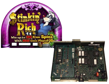 IGT 3902 with Stinkin Rich! Casino Machine Cpus