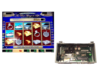 Williams Blue Bird CPU with Life of Luxury 2 Software - Affordable Casino Boards